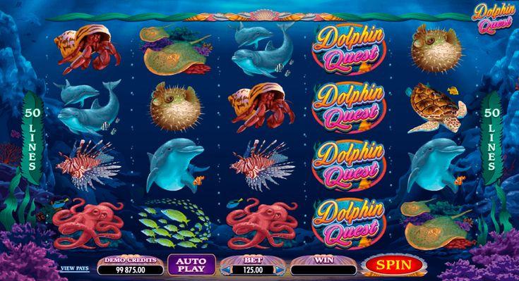 Uppoudu vedenalaisten asukkaiden maailmaan #Microgaming kolikkopelin Dolphin Quest kanssa ja voita! Slotissa on paras grafiikkaa ja rentoutuva juoni, jos sinulla oli vaikea päivää tämä on hyvä vaihtoehto levätäksi.