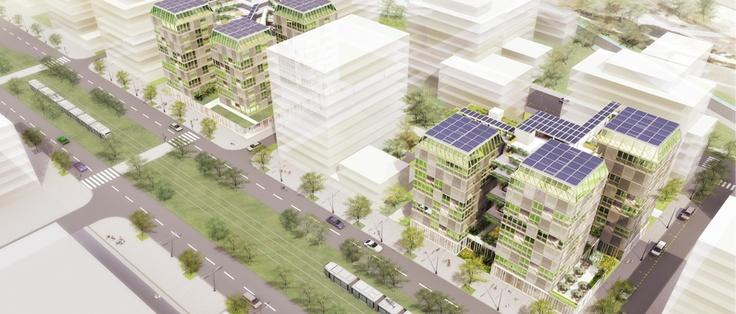 Canopéa, projet de construction verte dans les villes. Incroyable !
