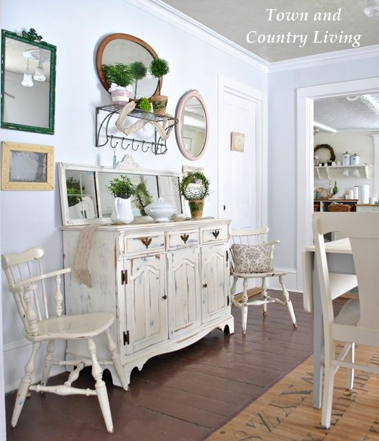 Best 25 dining buffet ideas on pinterest dining room for Country living kitchen designs