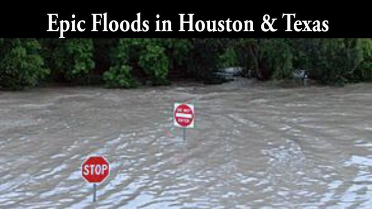 Catastrophic Floods in Houston & Texas - WTF Weird Weather - YouTube