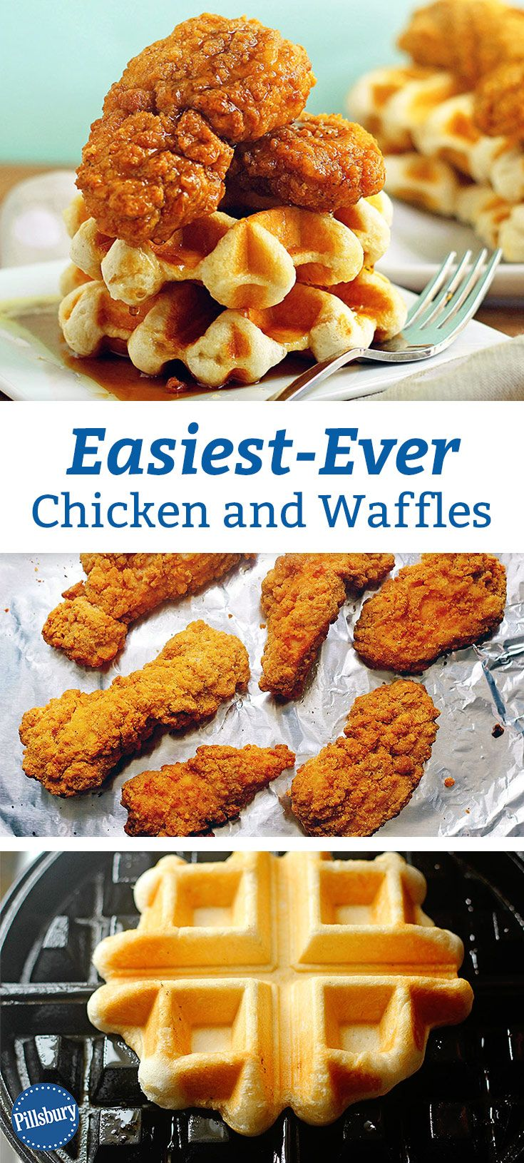 Chicken and Waffles doesn't get any easier! Savor this southern classic with just a few ingredients and barely any work.