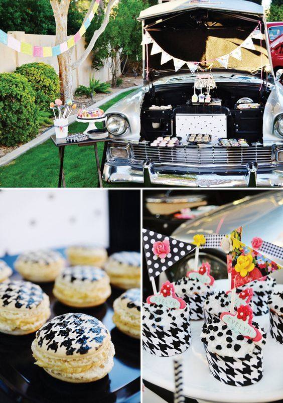 24 Best Chevy And Classic Cars Theme Party Images On