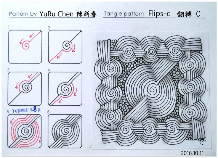 MY Tangle Pattern自創圖樣-028  Flips-C  翻轉-C.jpg