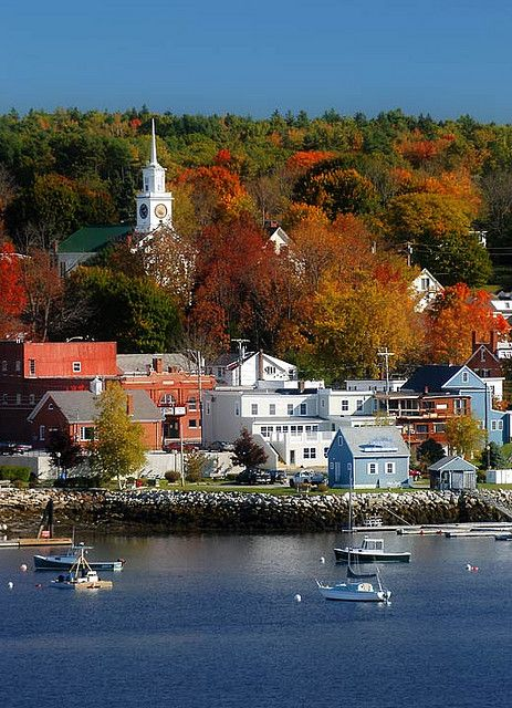 Bucksport, Maine - New England. Go to www.YourTravelVideos.com or just click on photo for home videos and much more on sites like this.