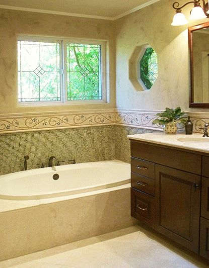 Napa valley patti cowger plc interiors bathrooms for Bath remodel napa ca