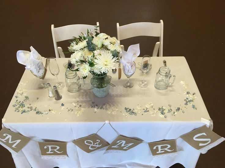 Bride And Groom Table Decor   [peenmedia.com]