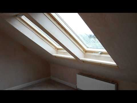 Loft conversion, two bedrooms and shower room using dormer and velux windows