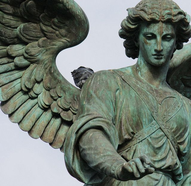 St Augustus on the Cliff — Angel of the Waters - Bethesda Terrace - Central...