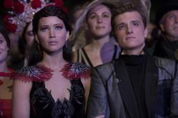 make up and hair - Josh Hutcherson, Jennifer Lawrence - Hunger Games - L'Embrasement -