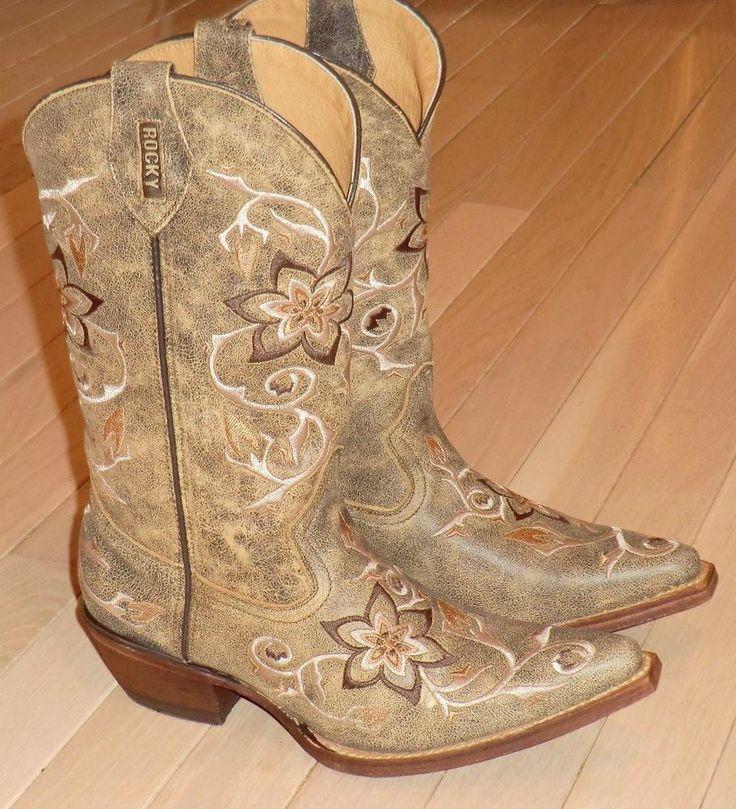Women's rocky boots