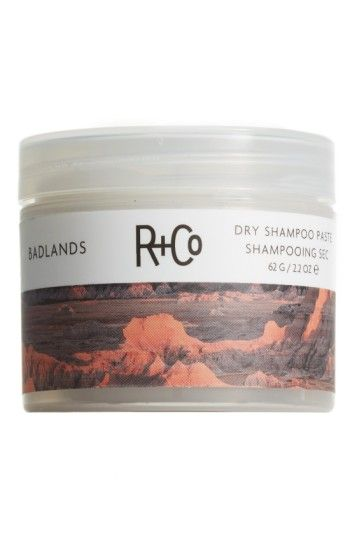 Free shipping and returns on Space.NK.apothecary R+Co Badlands Dry Shampoo Paste at Nordstrom.com. What it is: Add amazing second-day texture to your hair and absorb oil with this dry shampoo paste.Who it's for: All hair types.What it does: Its matte finish and re-workable hold mean no buildup, just serious style. Use it on days when you want to add texture and hold to slept-on hair.How to use: Rub a small amount between your fingertips and apply to second-day hair. Can also be used on da...