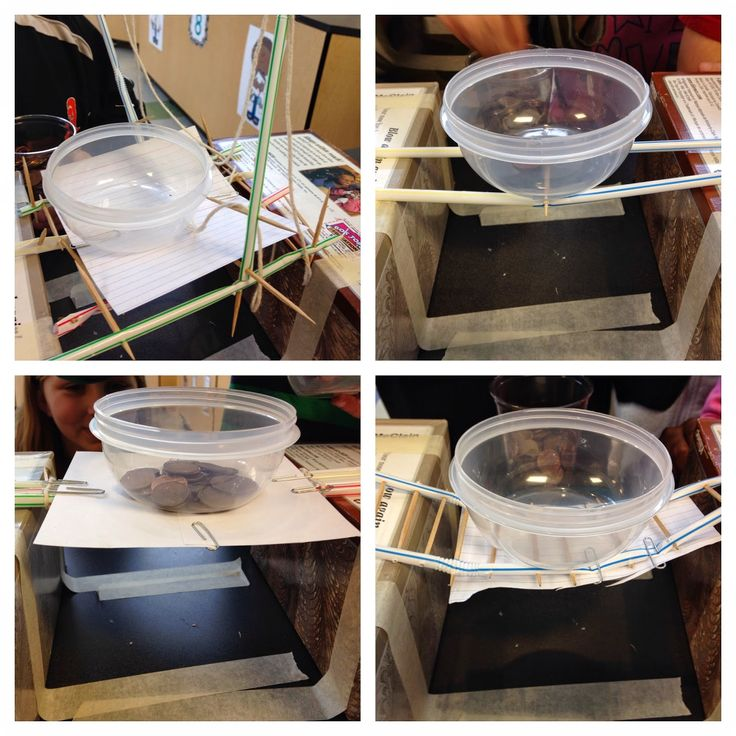 Can you build a bridge that will support weight using only a few given supplies! GREAT STEM challenge!