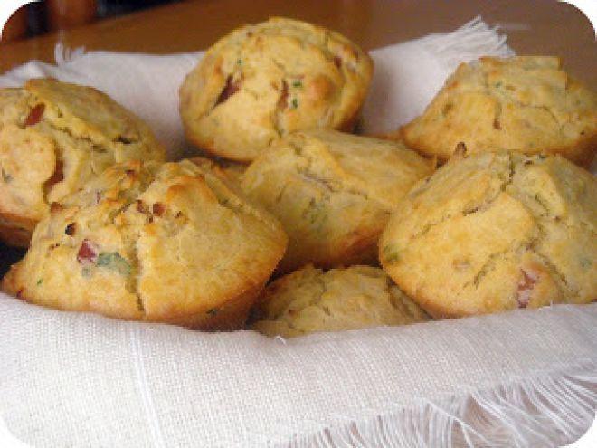 Receita Aperitivo : Muffins de presunto de Filipita - Adorei !!!