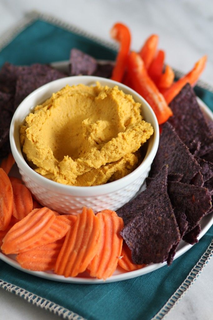 Butternut Squash Hummus from Pidges Pantry