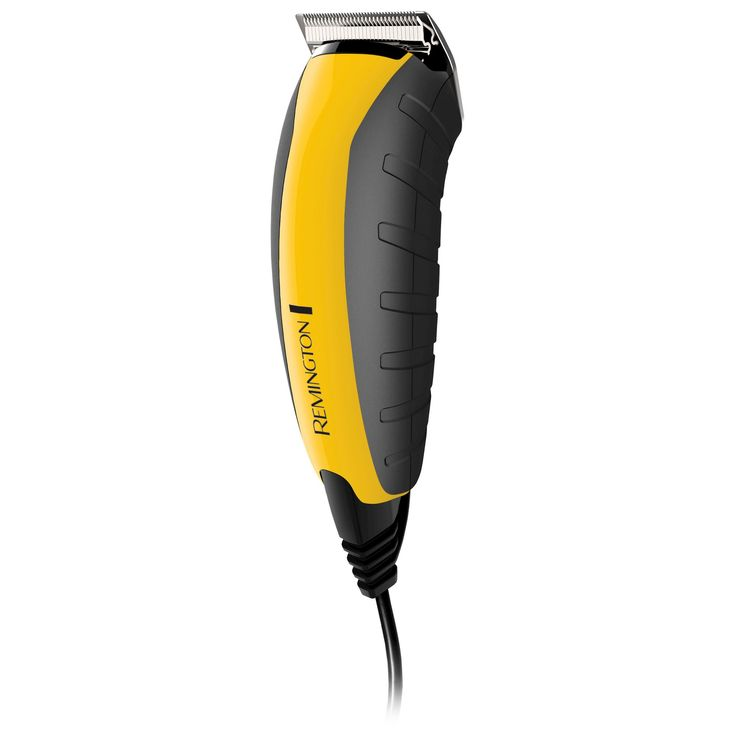 Remington Virtually Indestructible Men's Rechargeable Electric Haircut & Beard Trimmer - HC5855, Yellow
