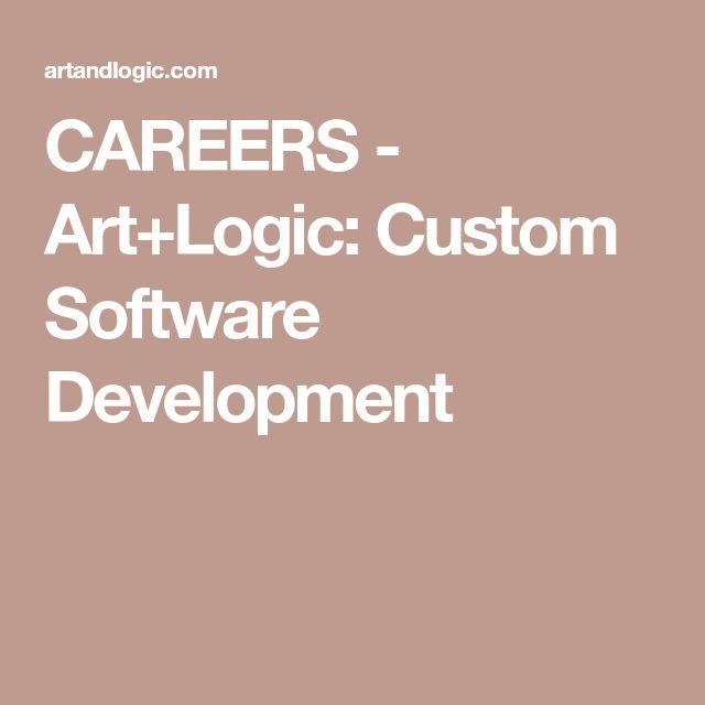 CAREERS - Art+Logic: Custom Software Development