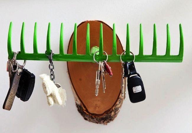 Leuke accessoire voor op het dakterras. DIY.