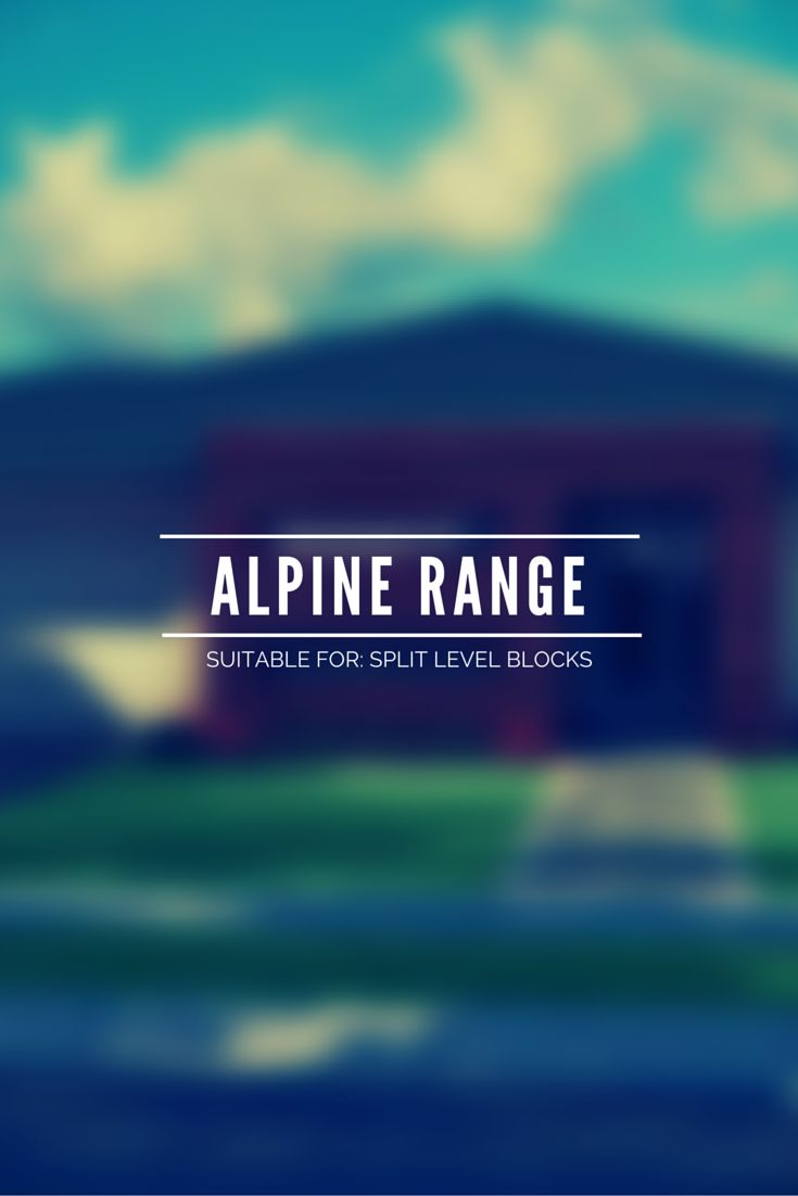 Our Alpine Range is designed for sloping blocks & each home includes a Drying Room. The Beaconsfield The Buller The Forster The Hotham The Merrijig The Swansea