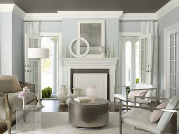 Painting and designing the ceiling - online interior design blog