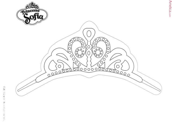 Krasivye Raskraski Princessy Raspechatat Dlya Devochek Besplatno Em 2020 Princesa Sofia Princesas Tiaras