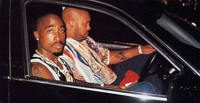 Who Killed Tupac - Tupac Shakur in BMW with Suge Knight the evening he was murdered