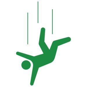falling person | Human Pictogram 2.0 - free vector human pictograms -