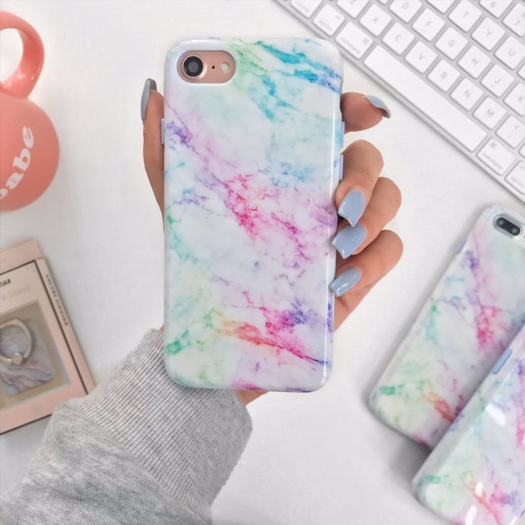 Pastel Rainbow Marble Iphone Case Marble Iphone Case