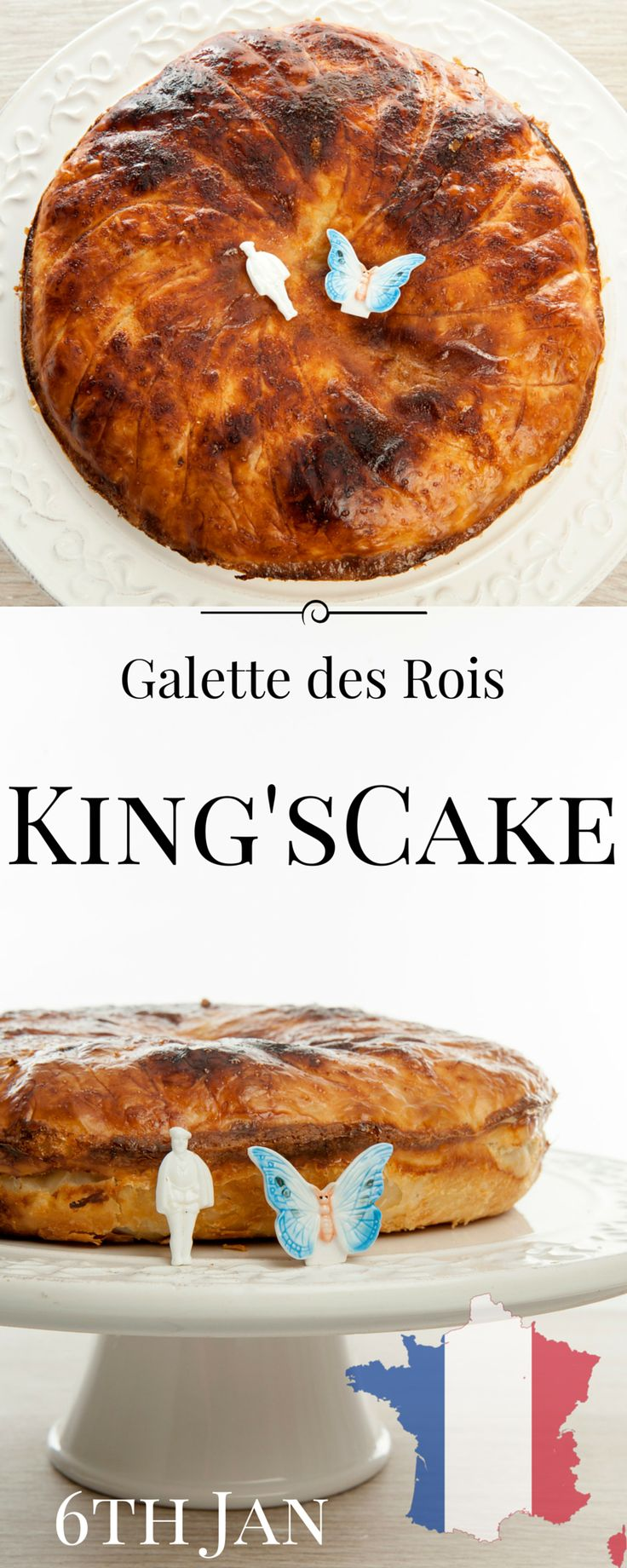 Galette des Rois or King's Cake is a French celebration of the 3 wise men. Try this delicious recipe xx YUM!