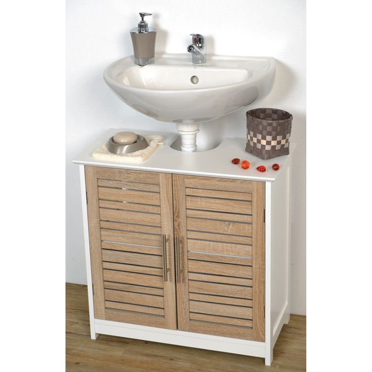 25 best ideas about pedestal sink storage on pinterest - Bathroom vanity under sink organizer ...