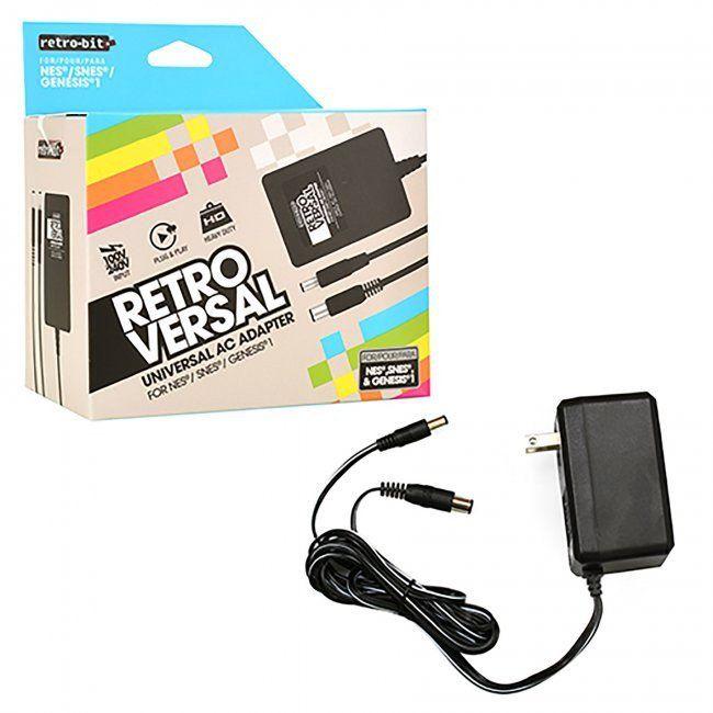 Universal AC Power Adapter for NES®, SNES®, GENESIS®