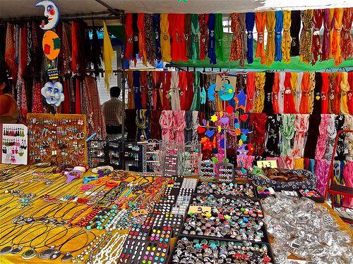 Market Colour  A stall in Puerto Megan market, Gran Canaria