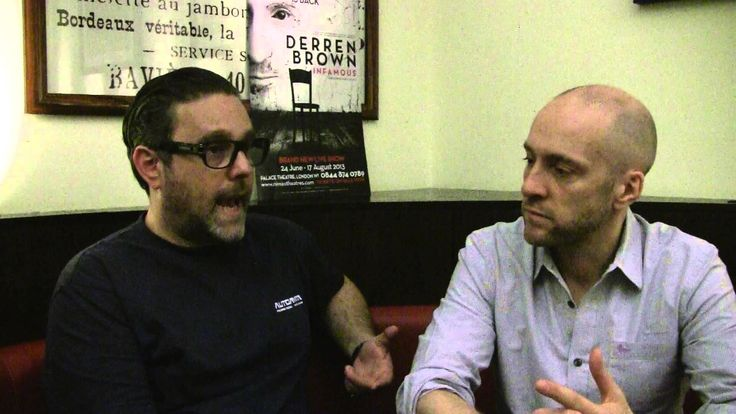 Derren Brown and Andy Nyman discuss their new show Infamous