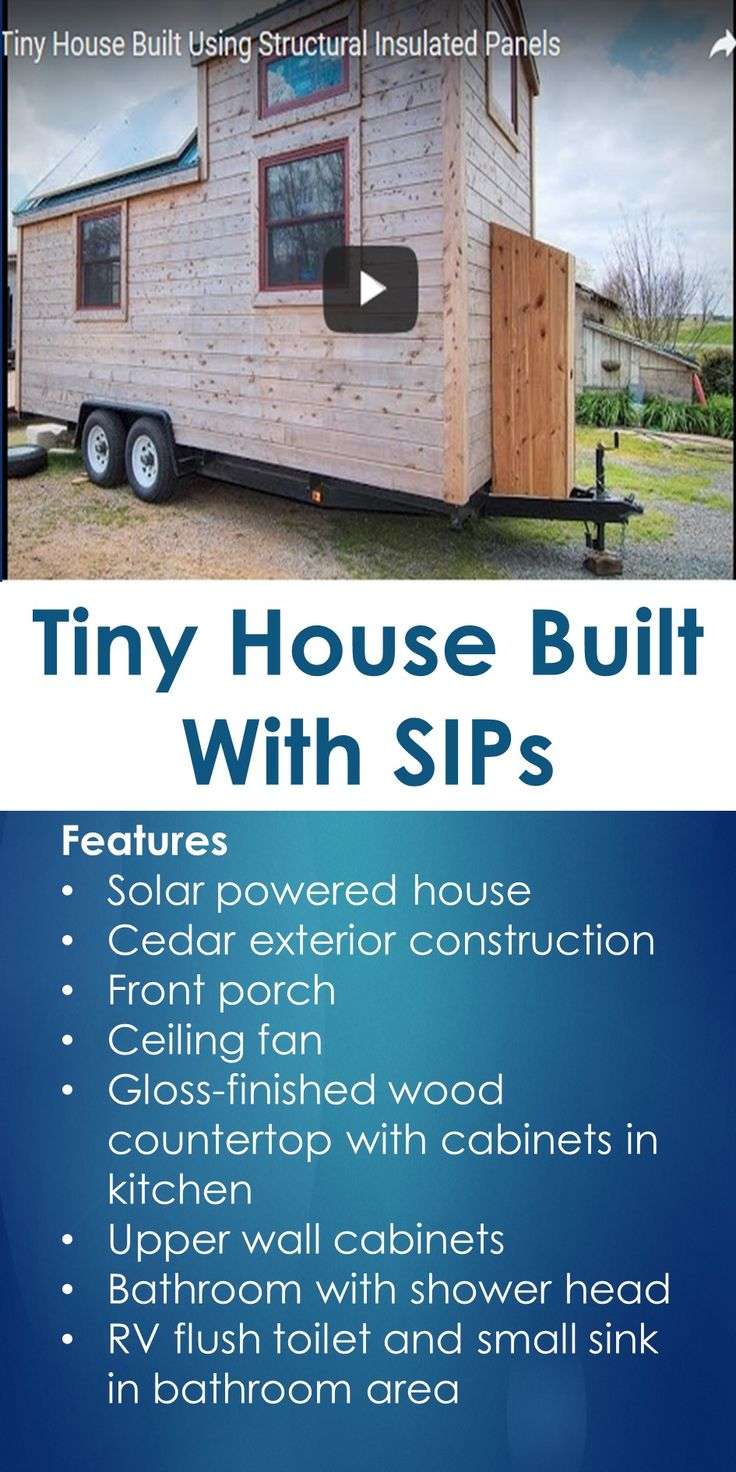 176 best tiny houses images on pinterest little houses for Sip home packages