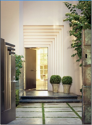 Beautiful entrance.