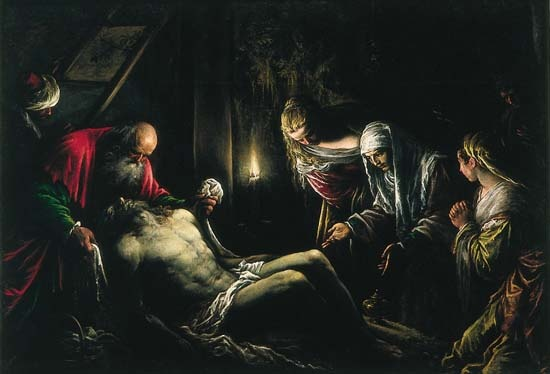 La Déposition du Christ, Jacopo Bassano