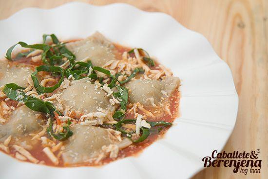 #RavioliDiVietola un plato delicado y delicioso hecho totalmente a mano 100% natural #Vegan #PastasVeganas