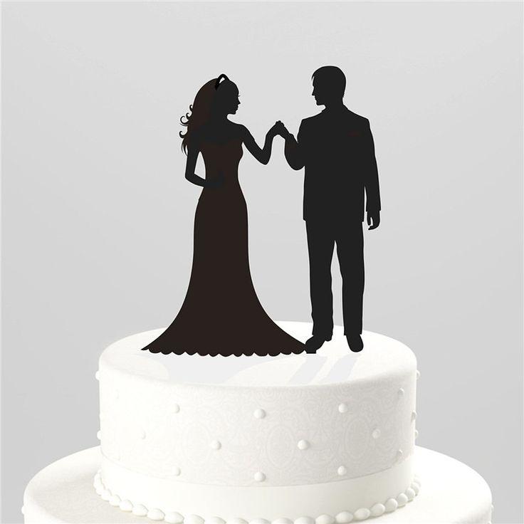 Weeding Cake Topper (Bride Groom Entrance /Loving Gaze /Hands Holding)