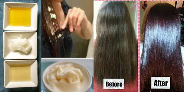 All you need is this 3 ingredients to solve all your hair problems – Get long silky smooth hair after first use #SilkySmoothHair
