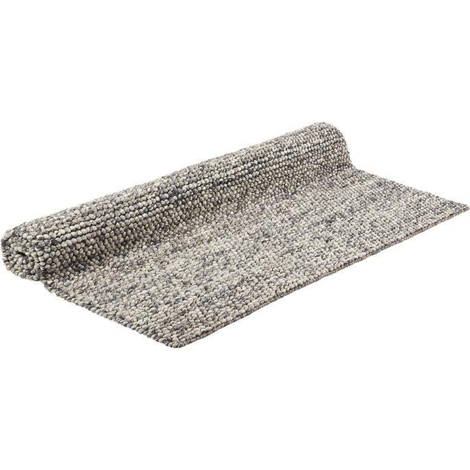 Vloerkleed Niagara met grijzen elementen. Afmeting 133 x 190 cm. Ook verkrijgbaar in andere afmetingen.