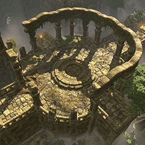 This art pack contains over 300 models to create stylized temple environments.