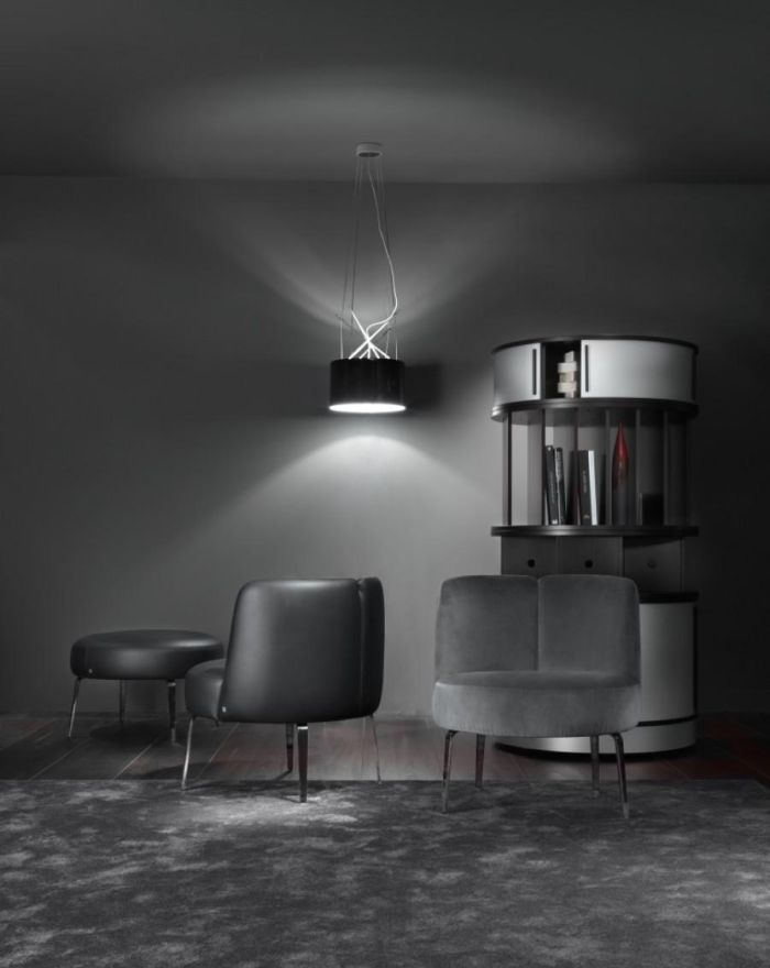 Ciemna strona mocny  #armchair #modern #style #internoitaliano
