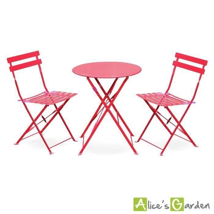 Les 25 meilleures id es de la cat gorie chaises pliantes sur pinterest projets de mobilier - Mobilier jardin rouge besancon ...