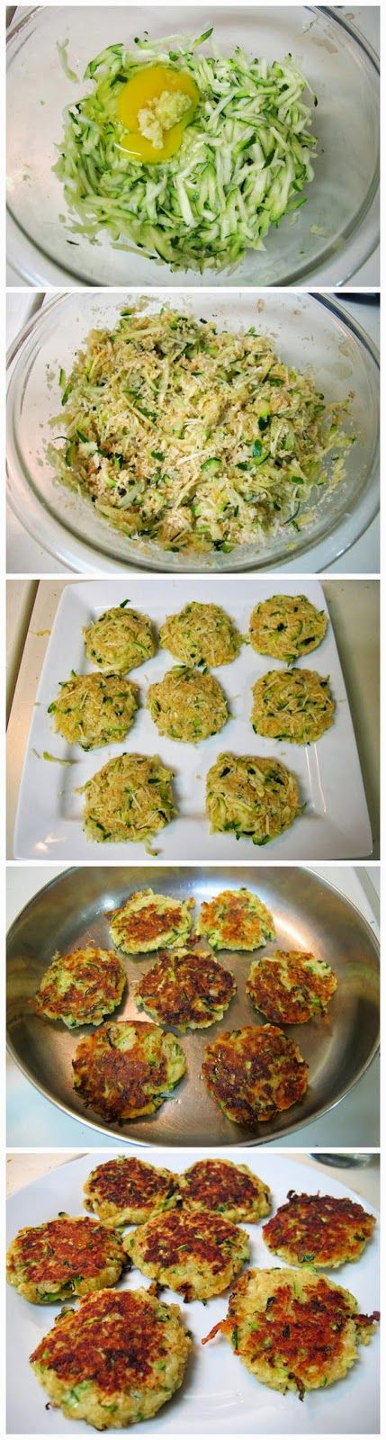 Zucchini Cakes I keep seeing these repinned, so i guess I should give them a try?