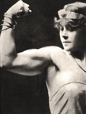 Early women's fitness was a far cry from what it is today. Meet 9 inspiring strongwomen of history who led the way and showed what women are really made of.