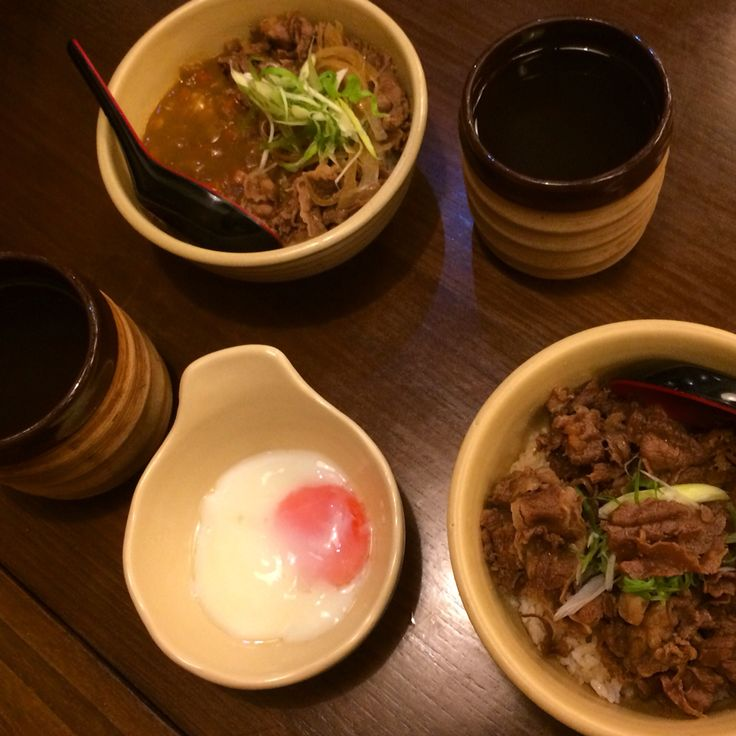This is yummy. Gyudon from Donburi Ichiya.