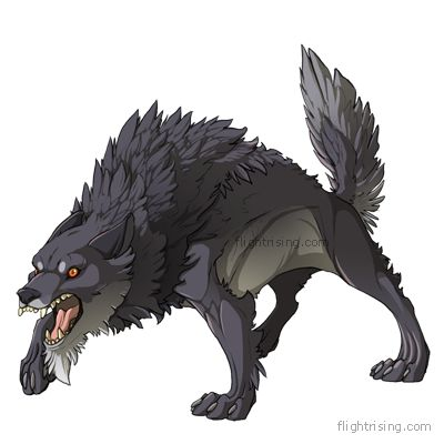 low poly dire wolf - Google 搜尋