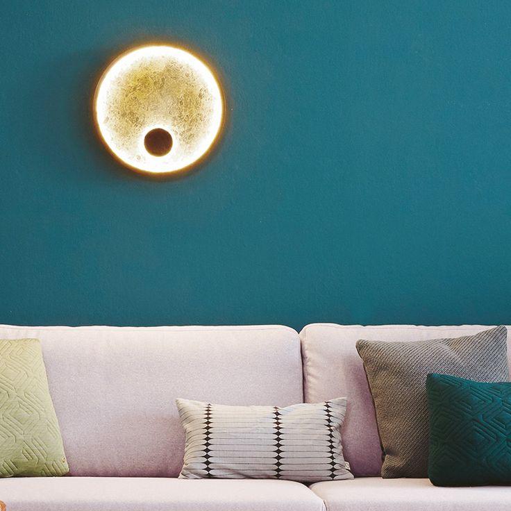 paul neuhaus luna led wandleuchte licht und lampen lampen led und wandleuchte. Black Bedroom Furniture Sets. Home Design Ideas