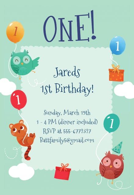 The 25+ best Crear invitaciones gratis ideas on Pinterest - first birthday invitation templates free