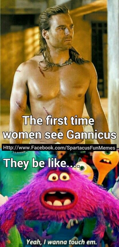 Dustin Clare Gannicus Spartacus