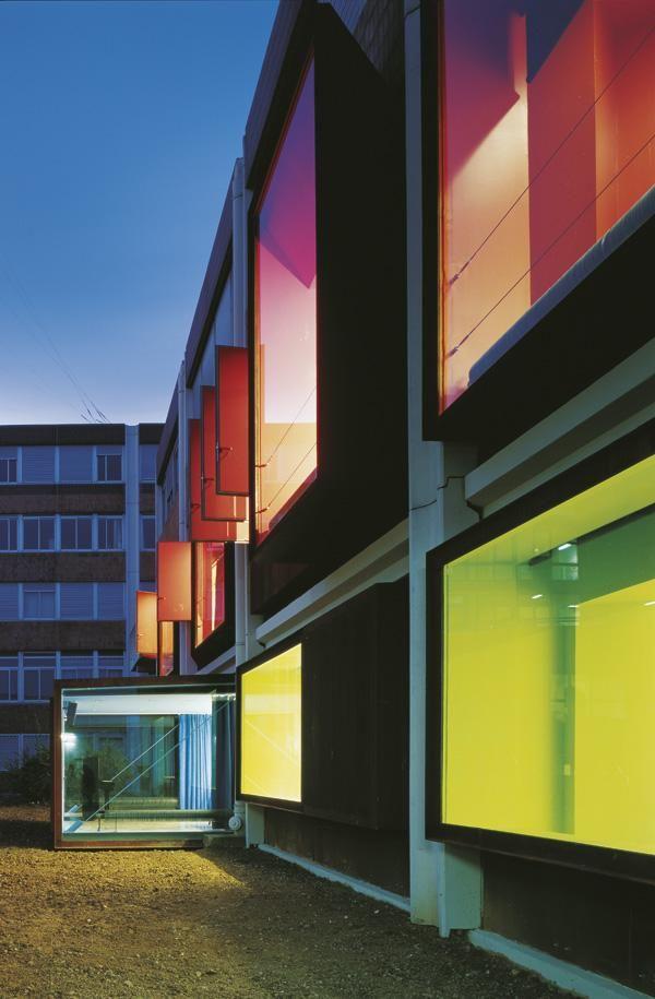 Project: Paris 8 University Arts Department (with Bernard Dufournet) - Moussafir Architectes